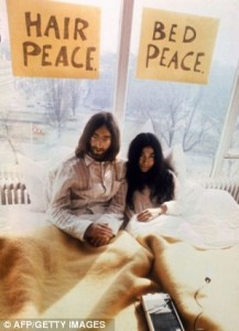 Yoko Ono tweets controversial image of John Lennon's bloody glasses5