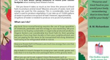 Earth Watch – Healthy Food