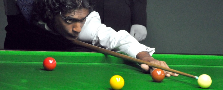 Susantha comes with  a vengeance to  take snooker title