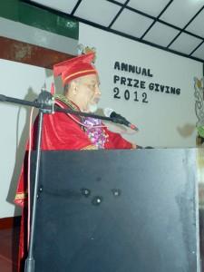 Address by the chief guest Prof. A.M. Ishaq