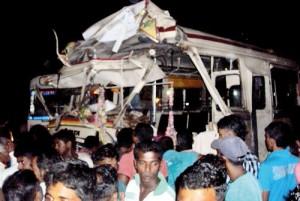 Bus-train-collision
