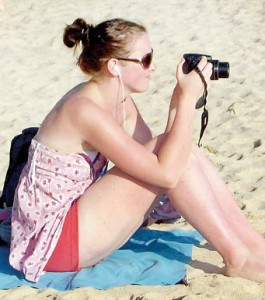 Coming to Sri Lanka in search of the sun and the beach: Foreign tourists down south.