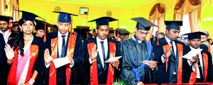 Our recently graduated students