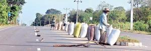 Migahajandura today: Development has come its way. Pic by Tharuka Dissanaike