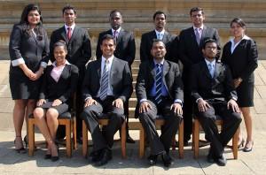 Pic shows members of the steering committee standing (from left) - Shalinie De Silva - McLarens Shipping (Assistant Secretary); Mahen Panagoda - Aitken Spence; Jehan Rodrigo – Prudential; Duminda Silva - Maersk (Assistant Treasurer); Nuwan Shanaka - Asha Agencies and Natarsha Fernando - Ceyline Shipping. Seated (from left) Kuvini Gamage - McLarens Shipping (Secretary), Mevan Peiris - Ceyline Group (Chairman), Navin Perera - GAC (Vice Chairman) and Hasitha Dissanayake - CMA CGM (Treasurer).