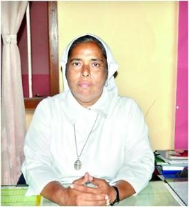 The present principal of the school, Rev. Sr. Jasintha Fernando