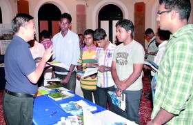 The QS World University Tour, held on May 2, was   a Great Success