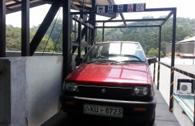 Sinhaputhra Finance installs first car/goods lift outside Colombo