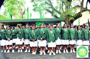 The Board of Prefects at the Kalutara Balika Walk