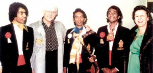 International recognition: At the World Song Festival in Tokyo in 1976
