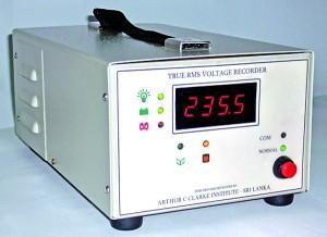 True RMS  Voltage  Recorder