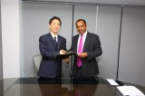 Pan Asia Bank welcomes President of Bansei Securities Co. Ltd.