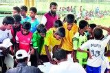 SL sieves football  talent for U-16 pool