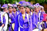 St.Peter's, St.Sylvester's, Devi Balika, Maliyadeva Girls' go marching on
