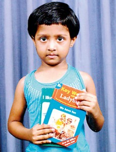 Ameesha Weerawardana, a Pre-Grade student of Hilburn International College, Avissawella was adjudged as an excellent reader in the Key Words Category in her class.