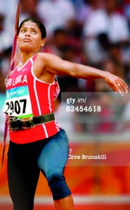 Sri Lankan javelin thrower Nadeeka Lakmali, who won two gold medals in Thailand, will eye her third in Colombo today.