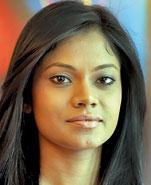 Nadine.Pic by M.A.Pushpakumara