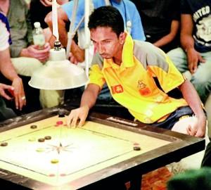 Reigning world champion Nushantha Fernando impressed in India