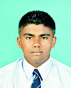 Shenal Chandrasekera (Best Bowler)