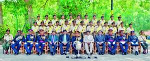 Girls' Cadet Platoon – 2012 De Soyza Trophy Winners