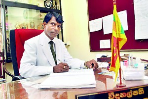 The Principal Mr.W.Weerasinghe