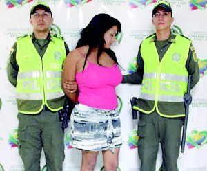Nicked: Colombian escaped convict Giovanni Rebolledo was recaptured despite having breast implants and dressing as a woman