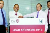 John Keells Holdings powers CA Sri Lanka with lead sponsorship for 2013