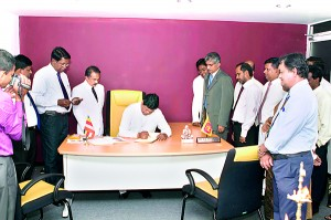 Minister of Education Susil Premajayatha's visit to Science College