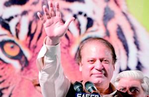 Pakistan Prime Minister-elect Nawaz Sharif