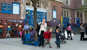 At Public School 11 in Chelsea, parents greeted the City Council speaker's proposed overhaul warmly on Monday.