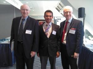 Prof. Philip Kotler, Shiraz Latiff and Prof. Jeff French at WSM 2013