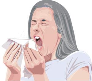Sneezing-Gra