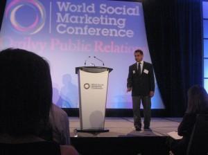 Speaking at WSM