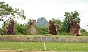 The four boulders: Remembering the forces involved in the landmark battle