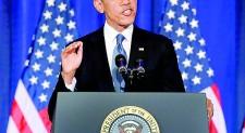 Obama pledges to end 'war on terror'
