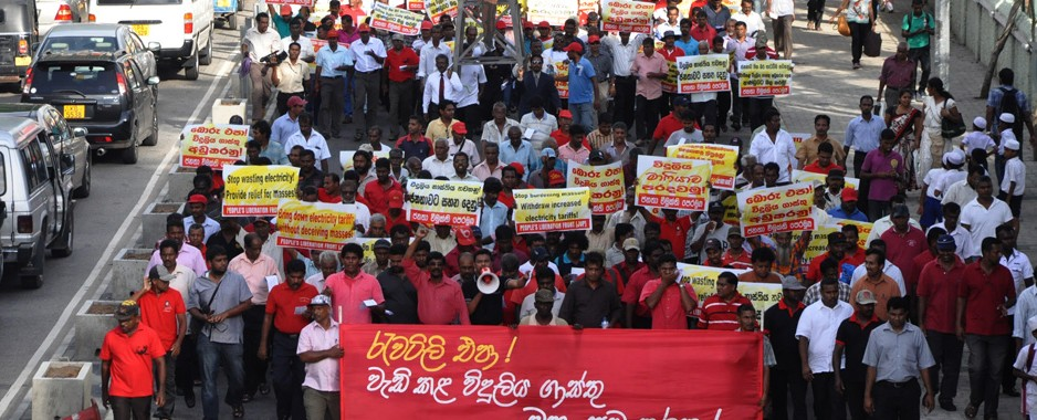 Strike? What strike? Unions call  for electricity hike protest a fizzer