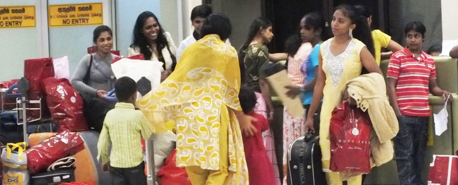South Asians including Sri Lankans rely heavily on informal money transfers