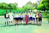 Royal win at Tennis