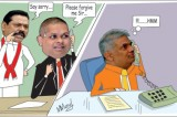 Sajin seeks forgiveness from Ranil