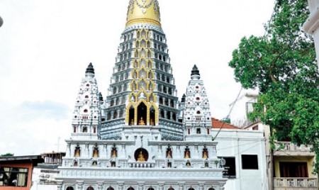 Little known  Thai temple with a long history