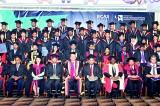 Sri Lanka students celebrates graduation