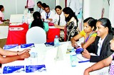 Hundreds of students from all parts of the country attend CA Sri Lanka's first ever career fair