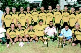 Maligawatte Veterans win Over-40 football title