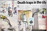 Electricity Board death traps claim a victim