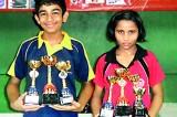 Upeksha and Kavindi Most Outstanding Players at Tibhar TT