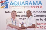 Sri Lankan Aquarium wins international award at Aquarama 2013 exhibition