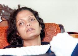 The weeping mother of Weliweriya