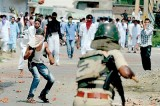 Curfew grips Indian Kashmir town after two die