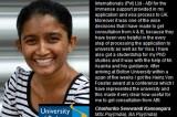 Sri Lankan student wins International Cybernetics prize