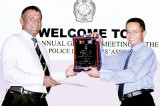 Police Sergeant honoured for 27 years of service